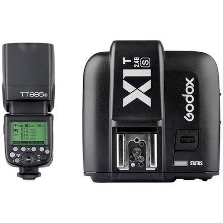 2 Godox Speedlight with x1t-s trigger