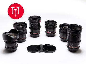 Canon EF  | Rokinon Cine-DS 14mm ** one lens only