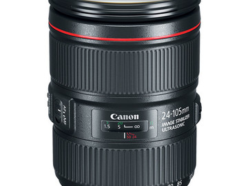 Rent: Canon 24-105mm f/4L IS USM Lens