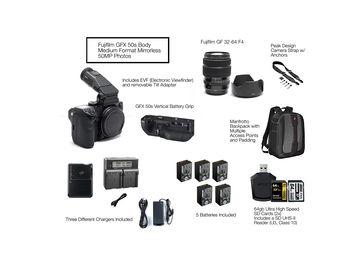 Rent: Fuji GFX 50s w/ Fujinon 32-64mm F4 Lens Package GFX 50s
