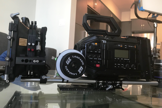 Blackmagic URSA Mini Pro 4.6k EF (Package)
