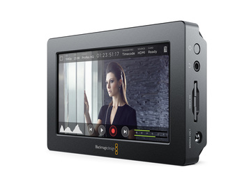 Rent: Blackmagic Design Video Assist w 256GB SD card