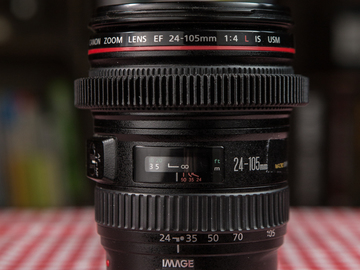 Rent: Canon 24-105/f4 Zoom (Lens 2)