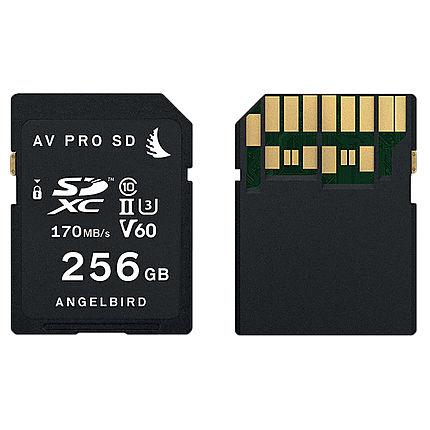 Angelbird AV Pro SD XC 256GB