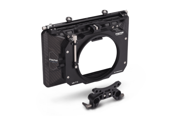 Tilta MB-T12 Clamp-on Lightweight 4x5.65 Matte Box Rod Supp
