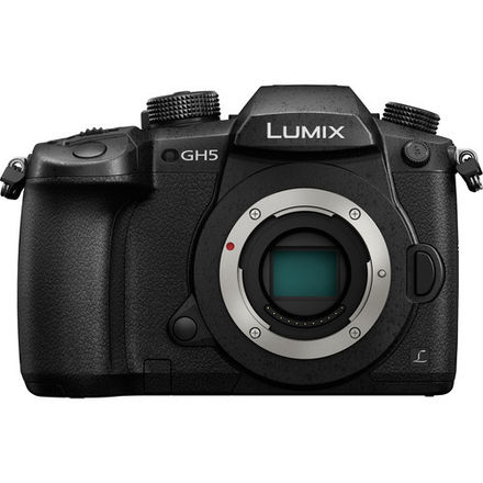 Panasonic Lumix GH5 Package w Lens, V-LOG, 2x 128GB SD Cards