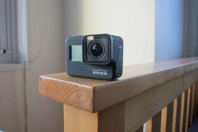 GoPro HERO7 Black kit w/ Adventure Kit, 3x batteries, + more