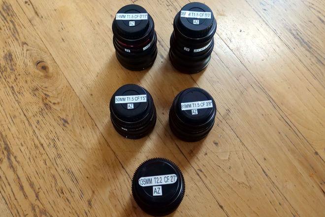 Rokinon Cine Lens Set - Canon EF Mount