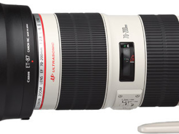 Rent: Canon 70-200 2.8L Mark II IS