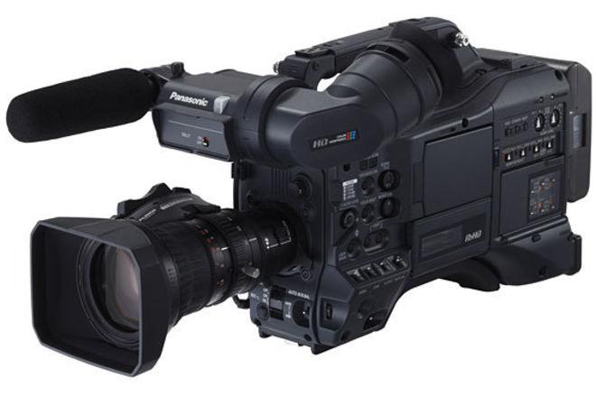 PANASONIC AG-HPX300 with Fujinon Rear Kit
