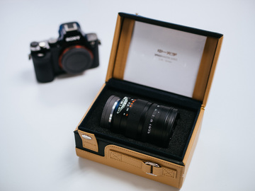 Rent: Mitakon Speedmaster 50mm f/0.95 (Full frame)/W Variable ND