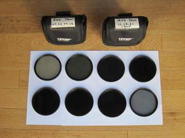 Rent: Tiffen 77mm 8 Filter Set: IRND 0.3-2.1 and Pola