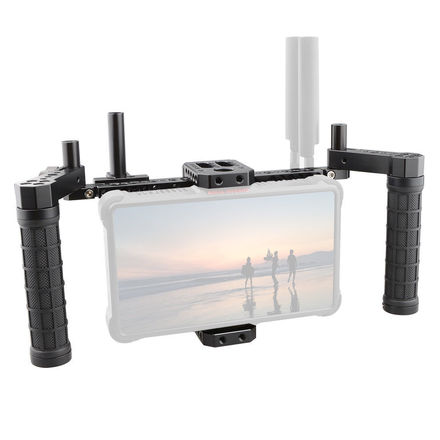 "CAMVATE 5"" 7"" Director Monitor Cage Kit w/Battery plate"