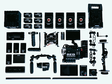 Rent: RED Epic Dragon Package + PL/Canon/Nikon Mounts