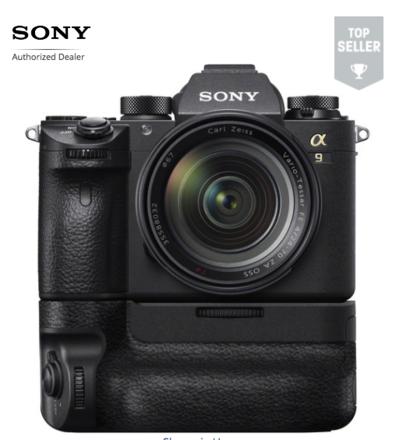 Sony Alpha a7R III Pacakge