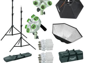 Rent: Continuous Video/Photo Softboxes Kit
