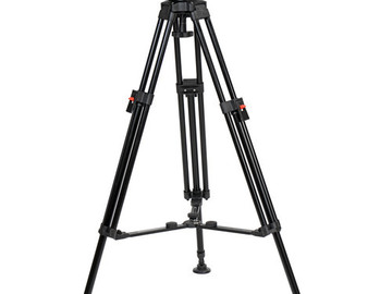 Rent: Cartoni Focus 12 Fluid Head with A302 Tripod Legs & Mid-Spre