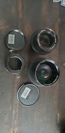 12mm & 25mm Lenses for 16mm cameras