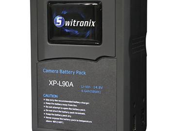 Rent: (4) Switronix XP-L90S V-Mount 98Wh 14.8 VDC Li-Ion Batteries