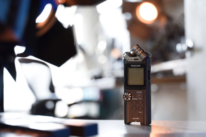 Tascam DR-22WL Audio Recorder