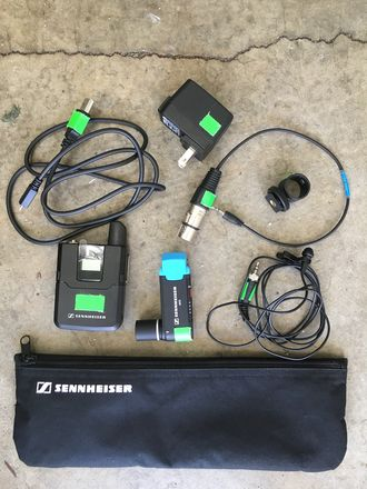 Sennheiser AVX Lavalier Digital Wireless Mic Set