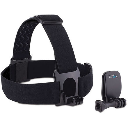 GoPro Head Strap and QuickClip (1 OF 3)