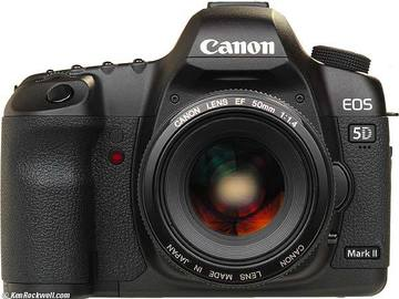 Rent: Canon 5D Mark II - Body only