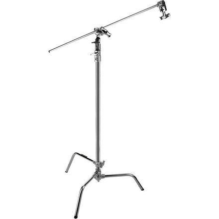 "Impact 40"" C-Stand with Sliding Leg and Gobo Arm"