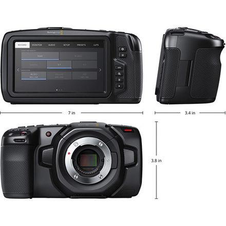Blackmagic Pocket Cinema Camera w Metabones ULTRA EF