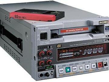 Rent: Panasonic AJ-HD1200 DVC-PRO HD VTR (1 of 2)