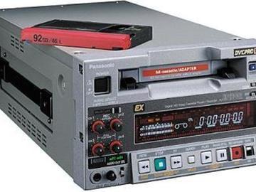 Rent: Panasonic AJ-HD1200 DVC-PRO HD VTR (2 of 2)