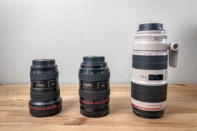 Canon L-Series 3 Lens Kit - 16-35mm II, 24-70mm, 70-200mm