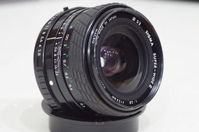 Sigma Super-Wide II 24mm f/2.8 Lens