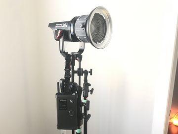 Rent: Aputure LS C120d Kit w/ Fresnel Mount + Lightdome