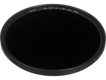 Rent: 82mm B+W ND1.8 Filter (6-Stops)