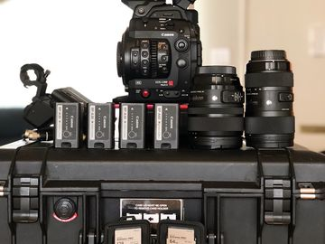 Canon EOS C300 Mark II C fast cards Sigma Art lenses