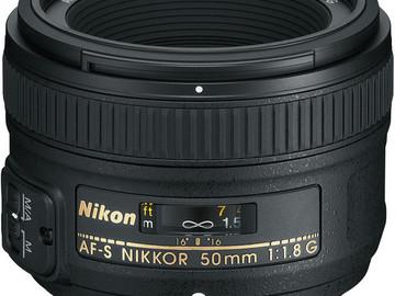 Rent: Nikon AF-S NIKKOR 50mm f/1.8G Lens