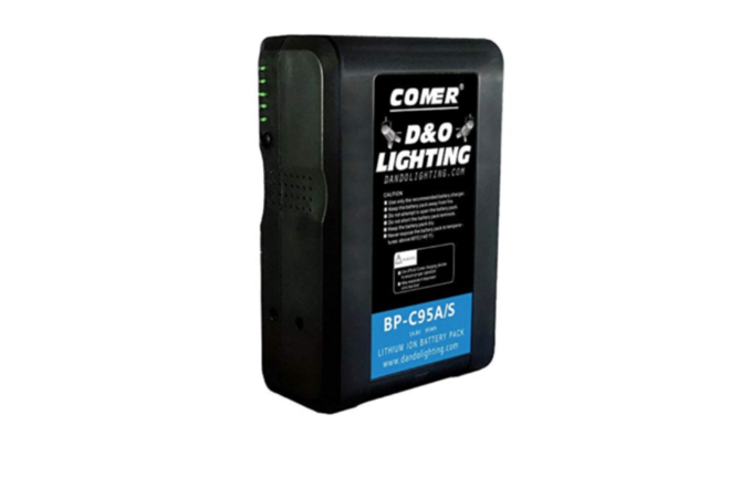 Comer 95Wh Sony V-Mount Lock Battery