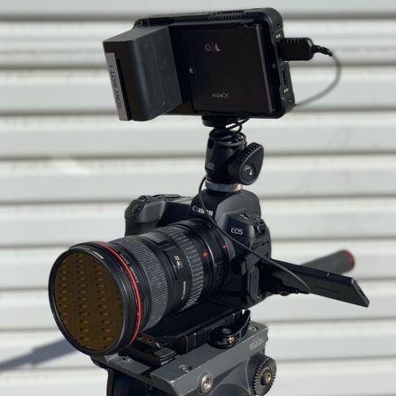 Canon EOS R Lens, Atomos Ninja V Wedding Pkg