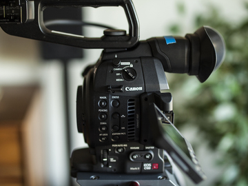 (2) Canon C100 MKII EF Mount Camera Package (no lenses)