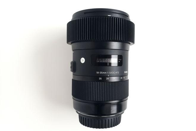Sigma 18-35mm 1.8 Follow Focus Gear Canon EF