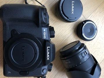 LUMIX GH5 with 2 LUMIX Lenses (14-140mm & 20mm)