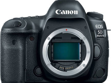 Rent: Canon EOS 5D Mark IV w/ 2 128GB 4K ready CF cards
