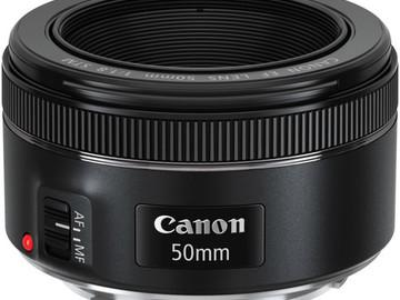 Canon 50mm EF f/1.8