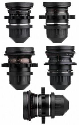 LOMO Standard Speed PL mount S35 Spherical Cinema Lens Set