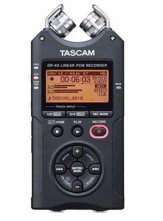 Tascam DR-40 Handheld Audio Recorder