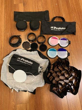 Profoto OCF 2' Beauty Dish Grid Gel Pack Light Modifier Kit
