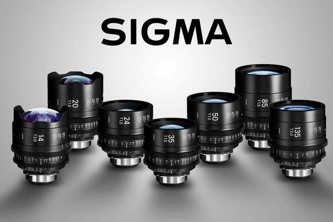 Sigma Cine FF High Speed Primes PL - wt E mount to PL adapt