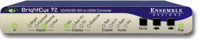 BrightEye 72 SDI to HDMI Converter-Color Corrector