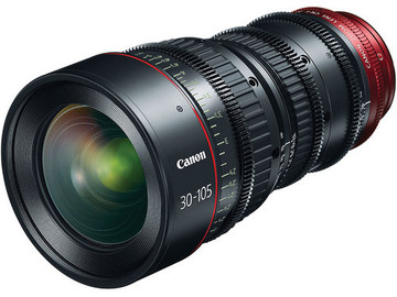 Rent: Canon CN-E 30-105mm T2.8 L S Telephoto Cine Zoom Lens (EF)